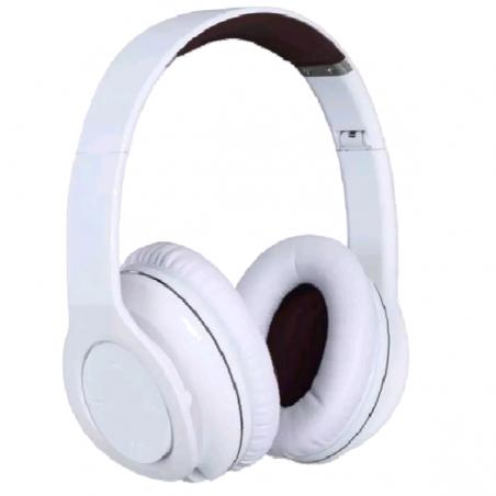 CASQUE Halterrego Pro sound bluethooth filaire fonction NFC 4 haut parleur blanc