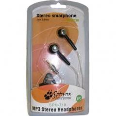 Ecouteur Sphynx stéréo jack 2.5mm