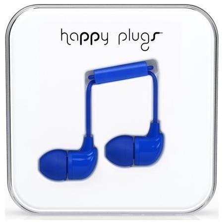 Ecouteurs avec micro et télécommande HAPPY PLUGS BLEU