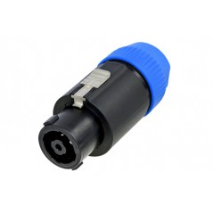 Connecteur de câble SPEAKON à 8 pôles, verrouillage à loquet