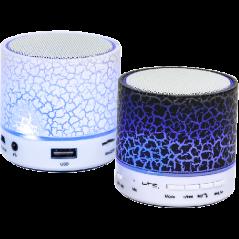 ENCEINTE BLUETOOTH MUSIC  MINI SPEAKER ROND MICRO-SD / USB /RADIO