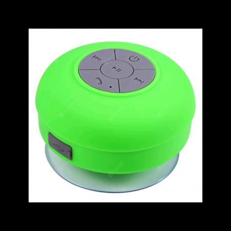 Mini Haut-Parleur étanche sans Fil Bluetooth Douche avec Ventouse pour Tablette