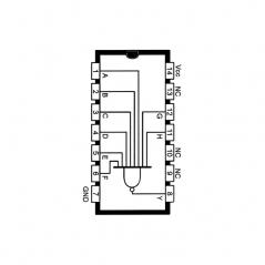Porte NAND à 8 entrées