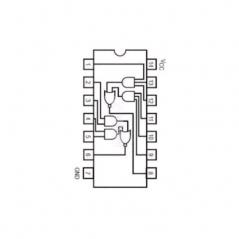 Double porte à 2 entrees AND/OR avec inverseur