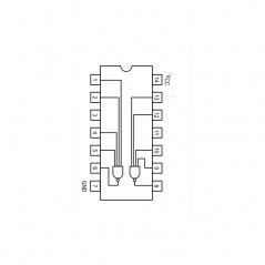 Circuit Intégré TTL 74020 Double porte NAND à 4 entrées