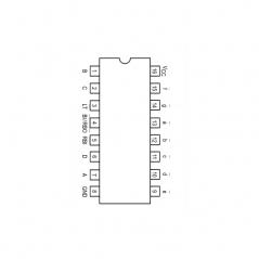 Transcodeur BCD/sept segment et sorties à collecteur ouvert (15 V)