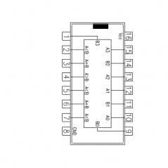 Circuit Intégré TTL 74085 Comparateur de magnitude à 4 bits