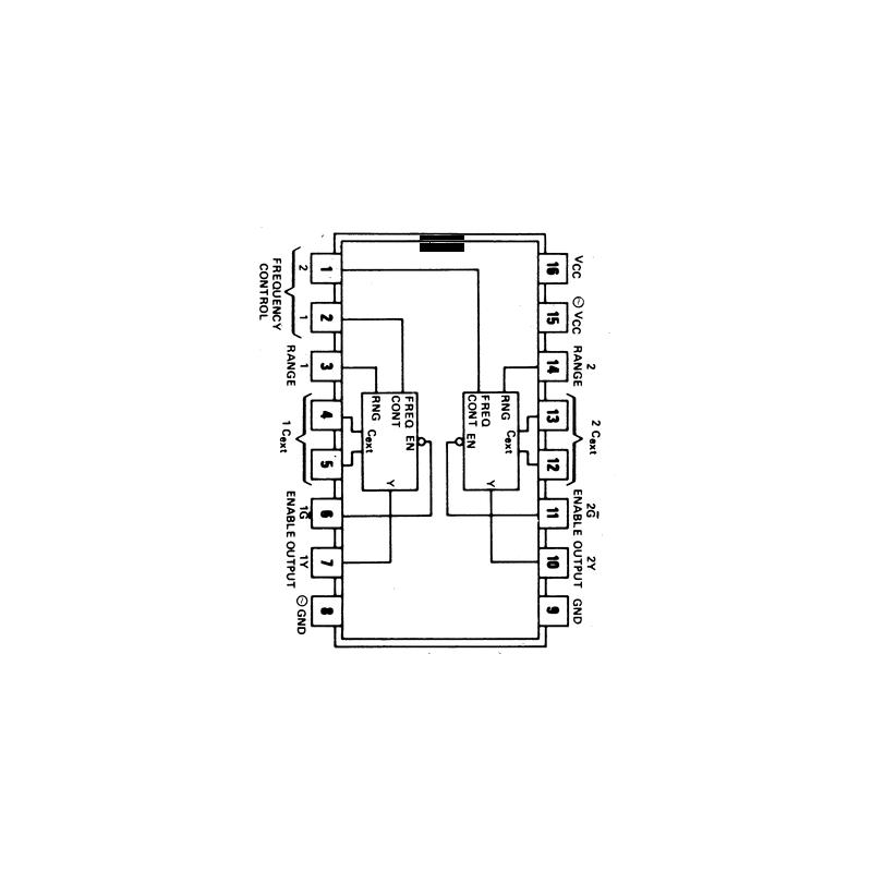 Circuit Intégré TTL 74124 Quadruple porte EX OR à 2 entrées