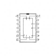 Circuit Intégré TTL 74092 Compteur diviseur par 12