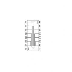 Circuit Intégré TTL 74133 Porte NAND à 13 entrées