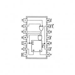 Circuit Intégré TTL 74122 Multivibrateur monostable redéclenchable avec effacement