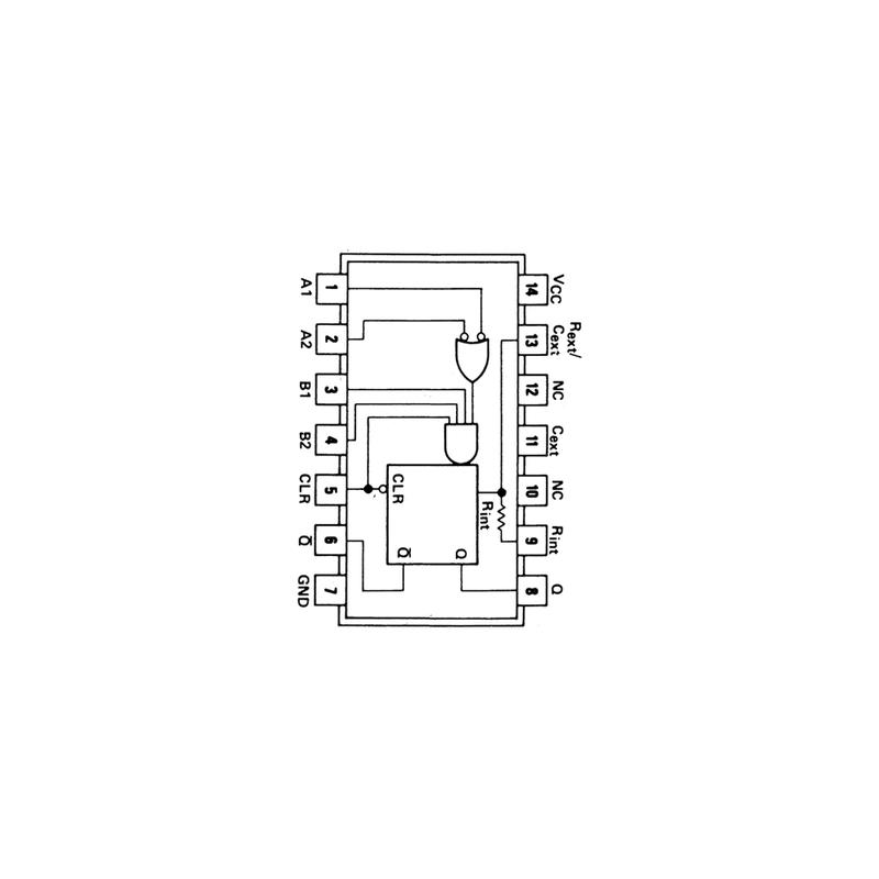 Multivibrateur monostable redéclenchable avec effacement