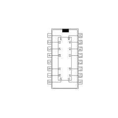 Circuit Intégré TTL 74083  binaire 4 bits