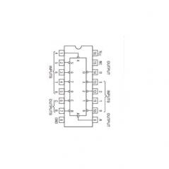 Circuit Intégré TTL 74147 Encodeur de priorité 10 vers 4