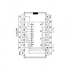 Circuit Intégré TTL 74145 Décodeur BCD/décimal de puissance