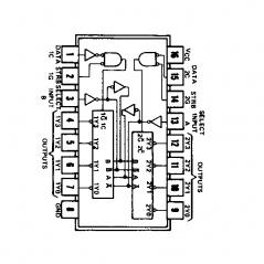 Circuit Intégré TTL 74155 Double décodeur/démultiplexeur 2 vers 4