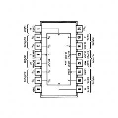 Circuit Intégré TTL 74190 Compteur/décompteur BCD synchrone
