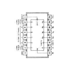 Circuit Intégré TTL 74194 Registre à décalage bidirectionnel universel à 4 bits