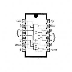 Circuit Intégré TTL 74197 Compteur programmable verrouillable binaire