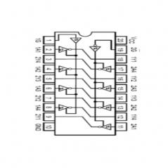 """Circuit Intégré TTL 74240 Octuple tampon de bus inverseur à sorties """"3 états"""""""