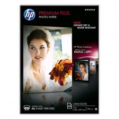 PAPIER PHOTO HP A4 Premium Plus 300g/m² 20 feuilles semi glacé *****