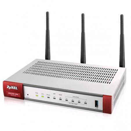 VPN FIREWALL  Avec son port SFP et son boitier métallique sans ventilateur