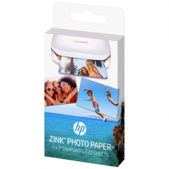 PAPIER PHOTO HP ZINK 2 x 3 20 FEUILLES