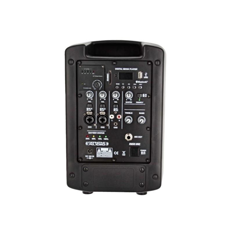 Sono Portable Definitive Audio 1 Micro UHF/50W RMS / 100W PROG/ Bluetooth