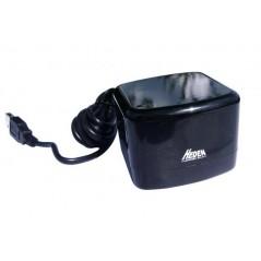 Enceinte mini HEDEN noir laqué avec cable USB
