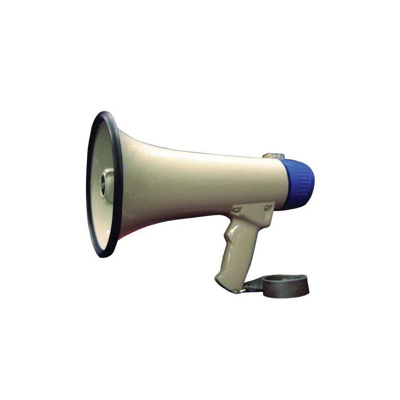 MEGAPHONE POWER 15W (6x1.5V LR14 NON FOURNIE)