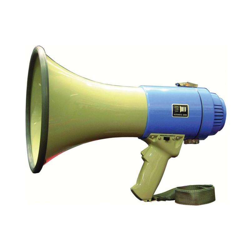 MEGAPHONE POWER 25W (8x1.5V LR14 NON FOURNIE)