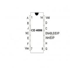 DC à 5 GHz Cascadable InGaP / GaAs HBT