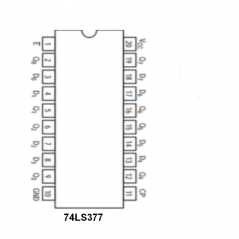 Circuit Intégré TTL 74 LS 377