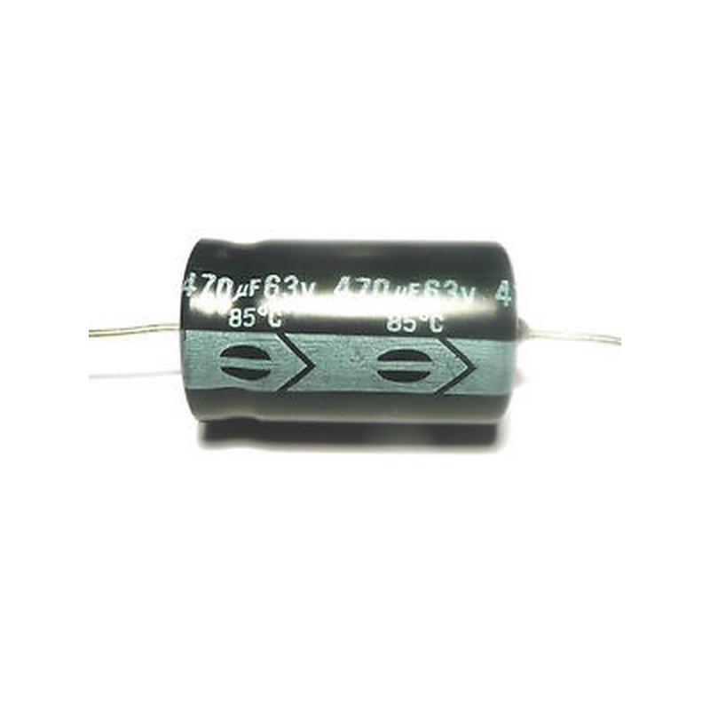 Condensateur Chimique Axial 470µF 63V