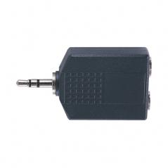 Adaptateur de prise stéréo 3,5 mm vers 2x adaptateur de prise stéréo 6,35 mm