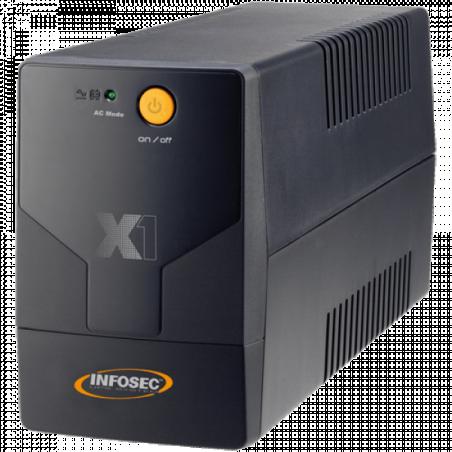 ONDULEUR INFOSEC X1 EX1000, Line In (Prises FRANCAISE)