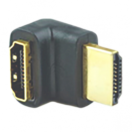 ADAPTATEUR HDMI FEMELLE /HDMI MALE COUDE 90° CONTACT OR