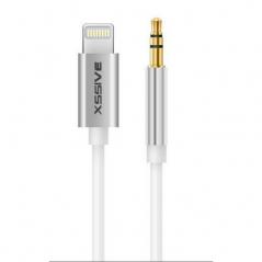 XSSIVE Cable Lightning vers Jack 3.5mm -1.0m Blanc