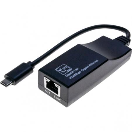 Adaptateur DEXLAN USB C vers GbLAN  10/100/1000