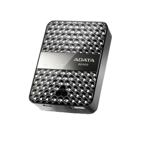 Adata Dash Drive Air | Lecteur de stockage sans fil et Power Bank AE400