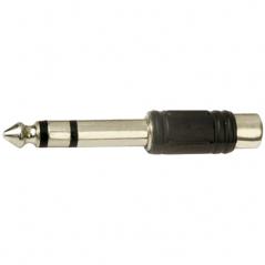 Adaptateur prise jack stéréo 6,35 mm vers RCA