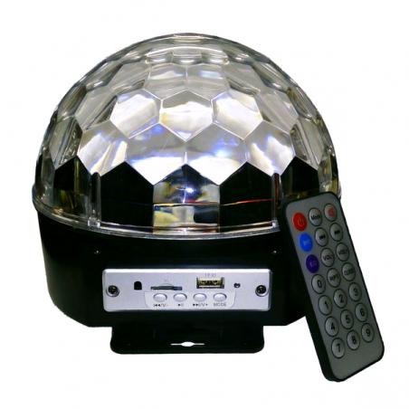 Demi sphère led Bluetooth portable
