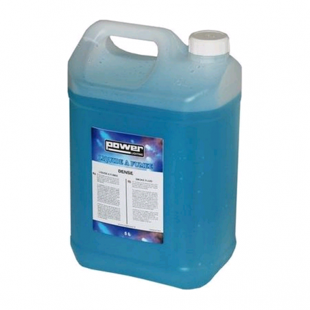 Bidon 5L de liquide fumée dense, produit une fumée blanche