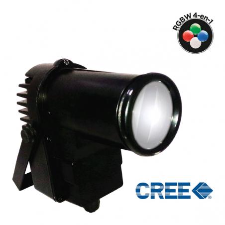 Spot Led CREE 10W RGBW 4-en-1