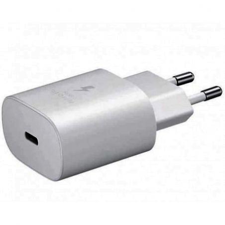 CHARGEUR SAMSUNG USB-C 25W/3A RAPIDE BLANC
