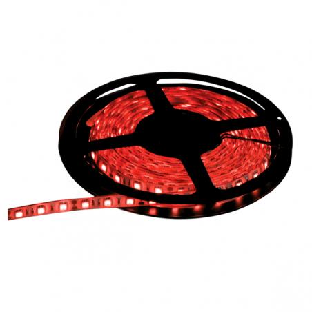 Ruban lumineux à LEDS rouges extra flexible coloré NJD IP65 5m
