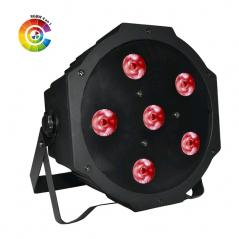 Projecteur POWER compact équipé de 6 leds de 4W (4-en-1) sur batterie