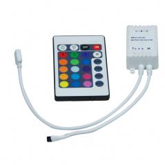 Contrôleur et interface infrarouges portables à 24 touches NJD pour bande lumine