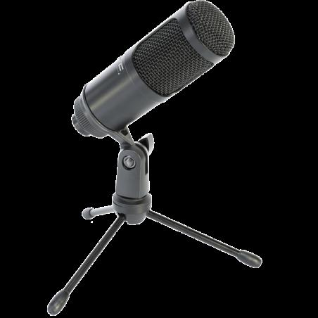 Microphone LTC USB pour enregistrement, streaming & podcast