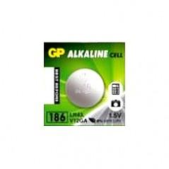 Piles bouton alcaline GP1.5V AG12 /LR43 / 386 l'unité